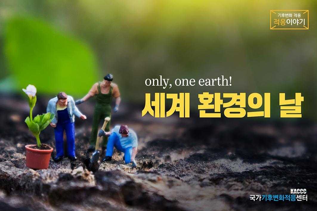 세계 환경의 날 - only, one earth!-