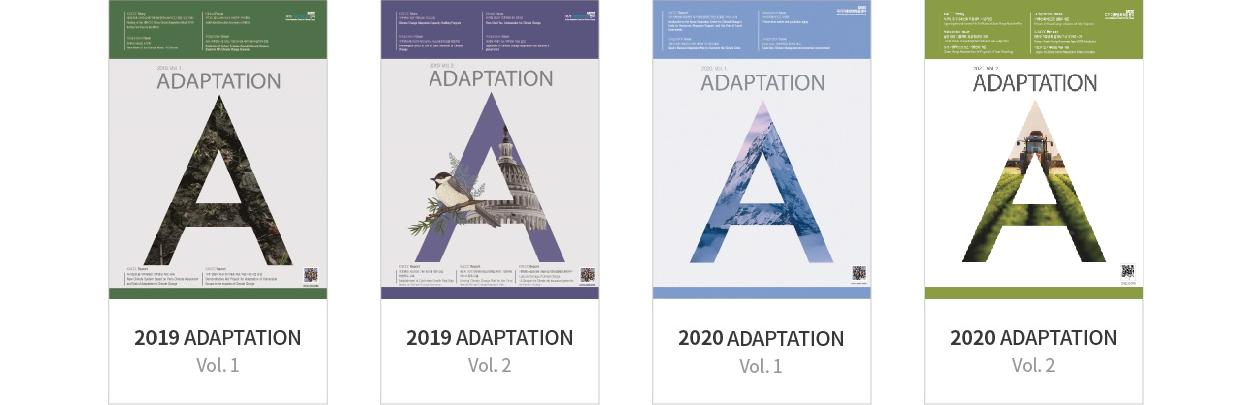 ADAPTATION 2019 ADAPTATION Vol.1, ADAPTATION 2019 ADAPTATION Vol.2, ADAPTATION 2020 ADAPTATION Vol.1, ADAPTATION 2020 ADAPTATION Vol.2