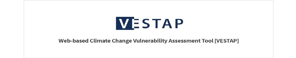 VESTAP Web-based Climate Change Vulnerability assessment TOOl VESTAP